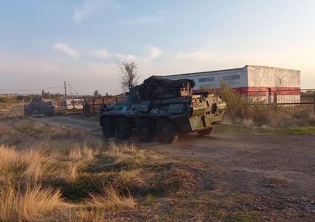Přesun ruských mírových jednotek do Náhorního Karabachu