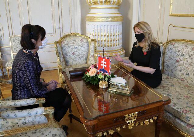 Doktorka Horáková vrátila Čaputové vyznamenání