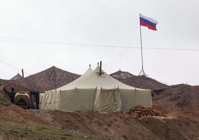 Základna ruských mírových sil v Náhorním Karabachu