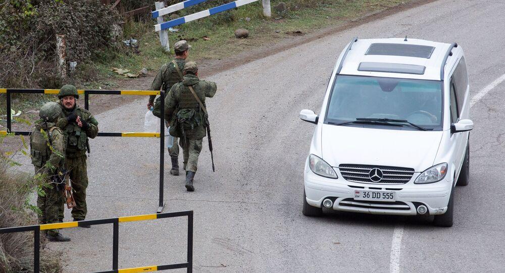 Ruští mírotvůrce v Karabachu