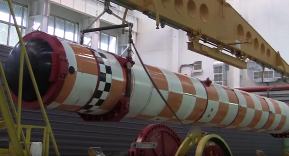 Před zahájením zkoušek bezpilotního podvodního přístroje s jadernou hlavicí Poseidon