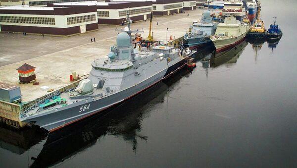 loď Odincovo - Sputnik Česká republika