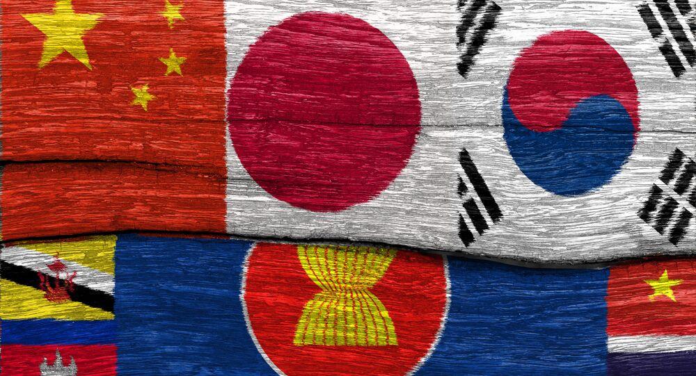 Vlajky členských zemí ASEAN