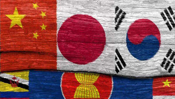 Vlajky členských zemí ASEAN - Sputnik Česká republika