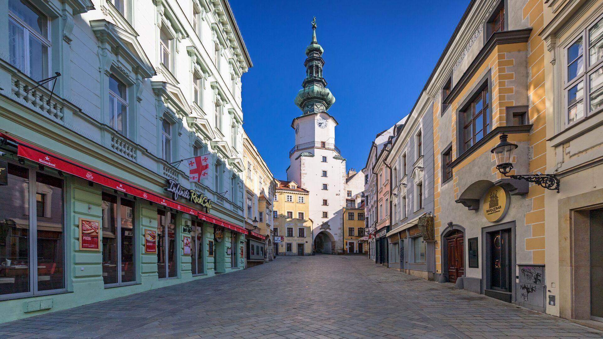 Prázdná Bratislava - Sputnik Česká republika, 1920, 27.04.2021
