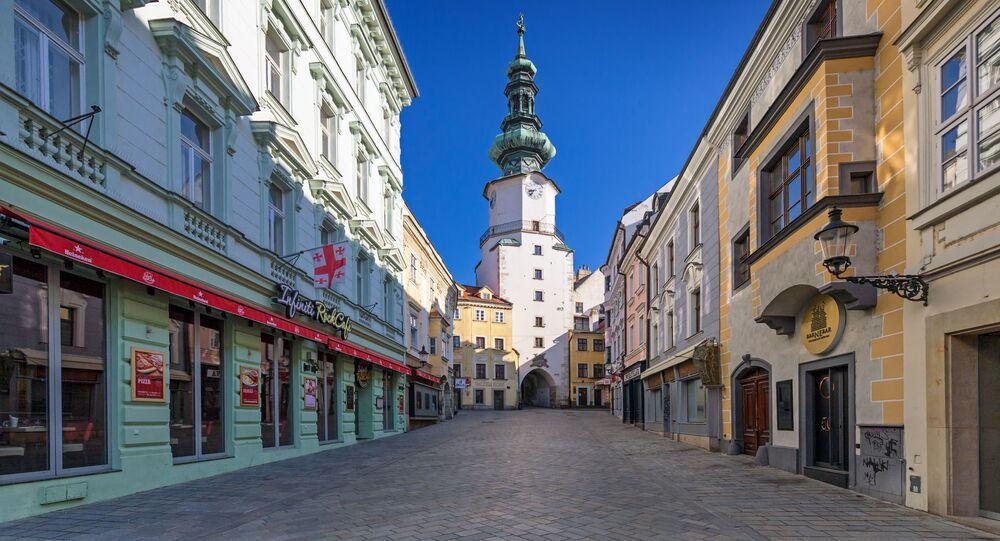 Prázdná Bratislava