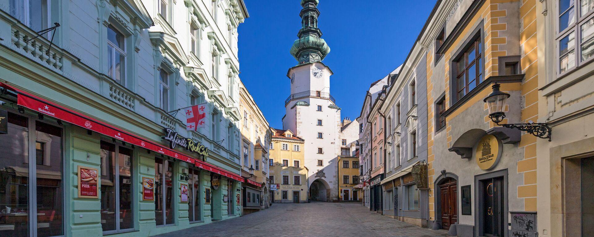 Prázdná Bratislava - Sputnik Česká republika, 1920, 04.08.2021