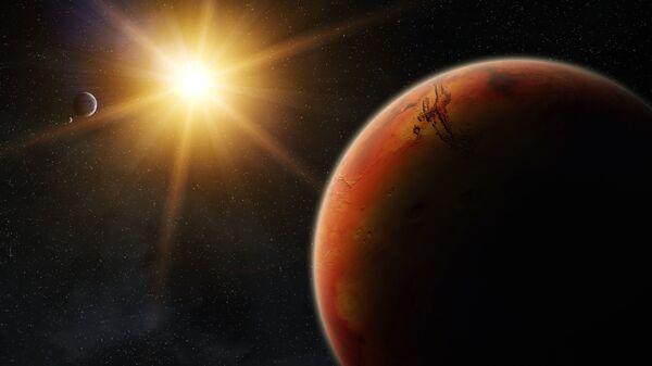 Mars při východu Slunce - Sputnik Česká republika