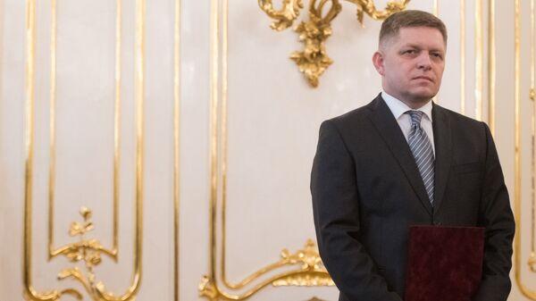 Předseda strany SMĚR-SD Robert Fico - Sputnik Česká republika