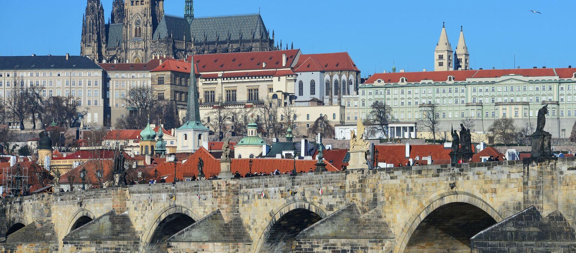Karlův most v Praze. Ilustrační foto - Sputnik Česká republika, 1920, 13.03.2021