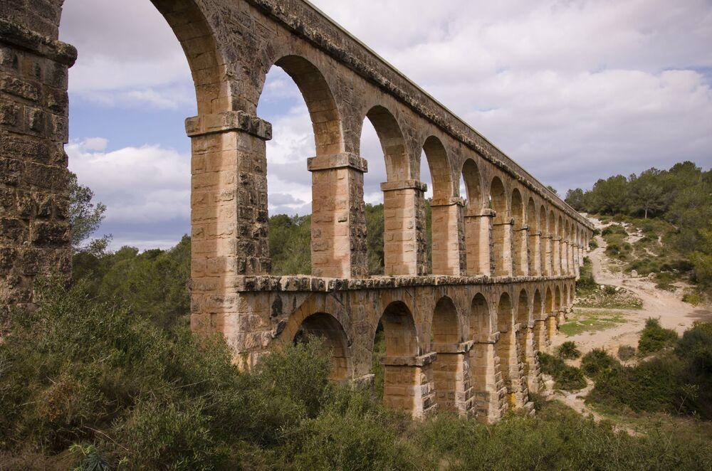 Ďáblův most v Tarragoně, Španělsko
