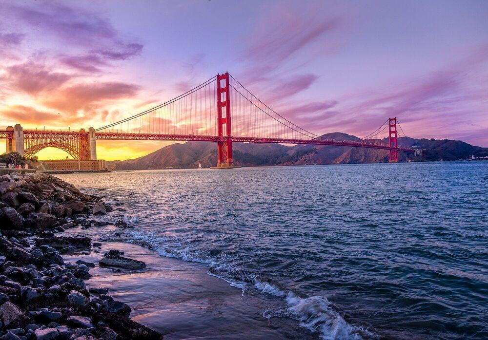 Most Golden Gate Bridge v San Franciscu