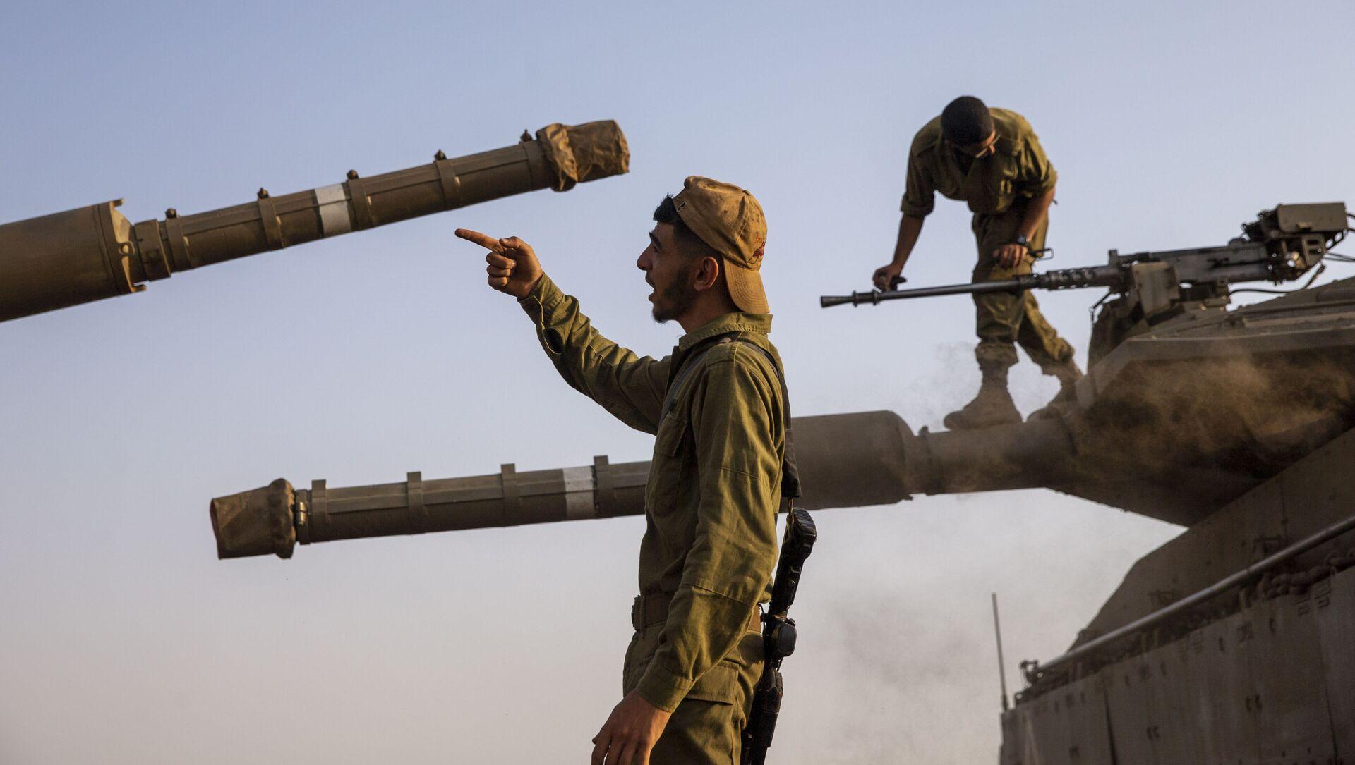 Izraelští vojáci na Golanských výšinách - Sputnik Česká republika, 1920, 04.02.2021