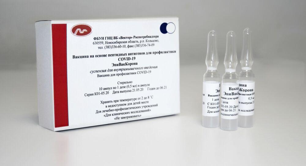 Vakcína EpiVakKorona vyvinutá v centru Vektor
