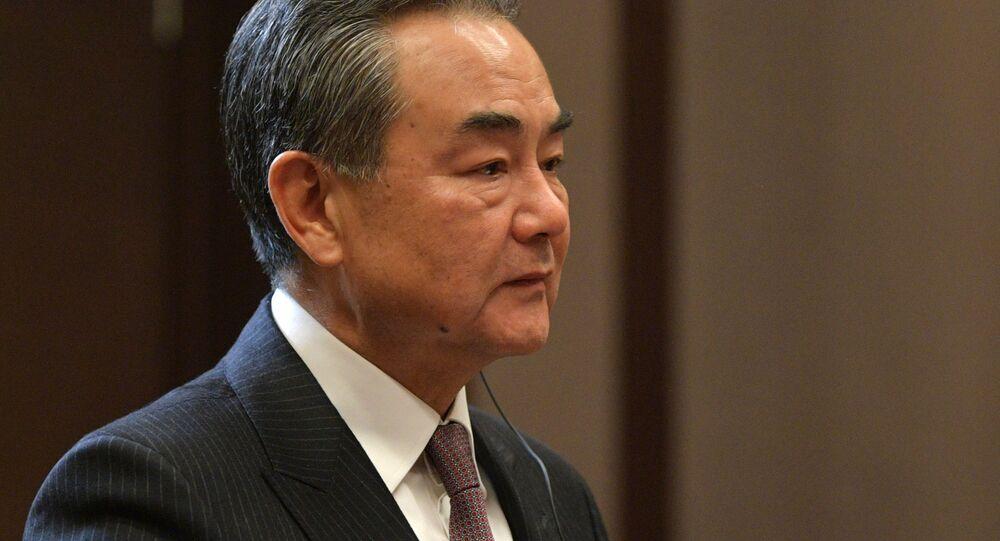Čínský ministr zahraničí Wang I v ruském Soči. Ilustrační foto