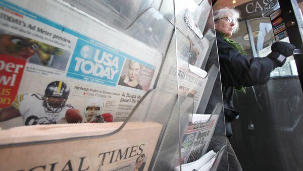 Americká média - Sputnik Česká republika