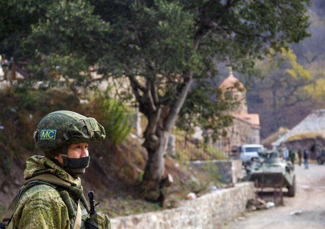Ruské mírové síly v Karabachu