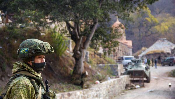 Ruské mírové síly v Karabachu - Sputnik Česká republika