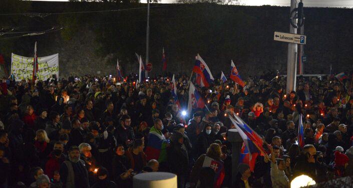 Protivládne demonštrácie 17. novembra v Bratislave
