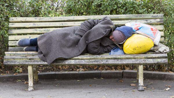 Bezdomovec - Sputnik Česká republika