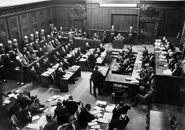 Zasedání tribunálu v Norimberku