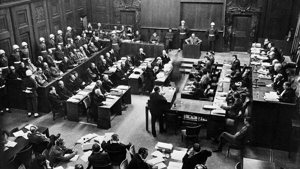 Zasedání tribunálu v Norimberku - Sputnik Česká republika