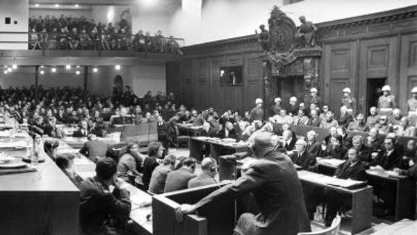 Norimberský proces - Sputnik Česká republika