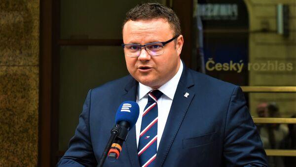Ředitel ČRo René Zavoral - Sputnik Česká republika