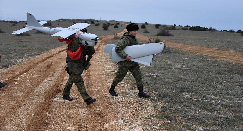 Ženská bojová jednotka pro řízení bezpilotních letounů z brigády Černomořské flotily