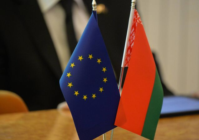 Vlaječky Evropské unie a Běloruska