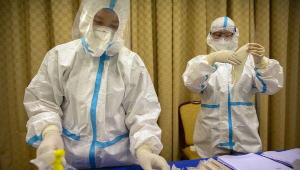 Testování na koronavirus. Ilustrační foto - Sputnik Česká republika