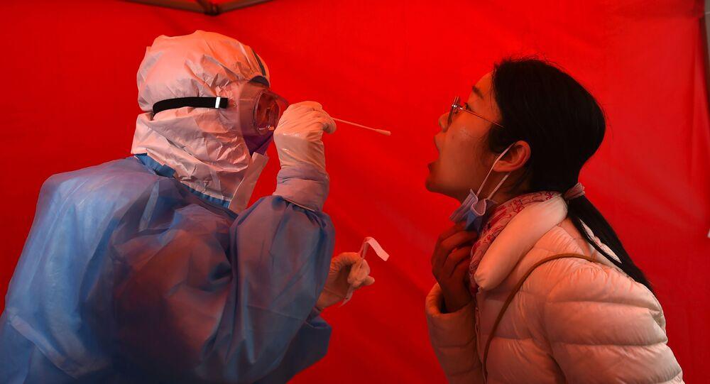 Testování na COVID-19 v Tianjinu v Číně