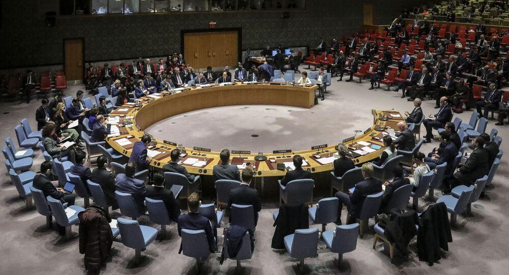Zasedání Rady bezpečnosti OSN. Ilustrační foto