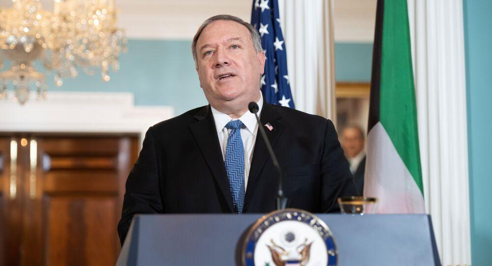 Ministr zahraničí USA Mike Pompeo