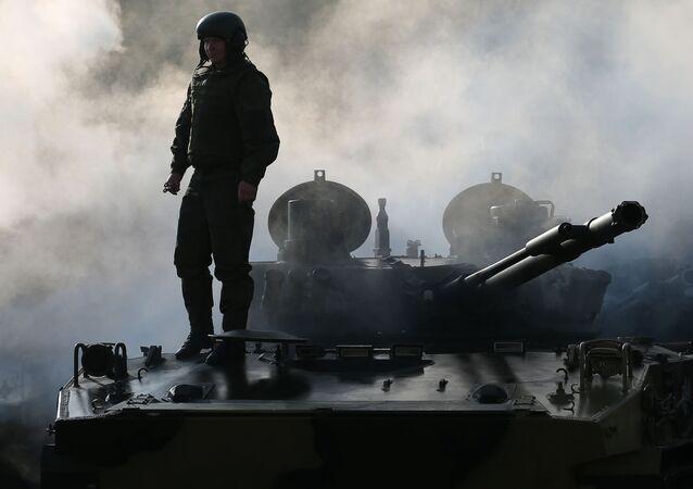 Ruské bojové výsadkové vozidlo BMD-4