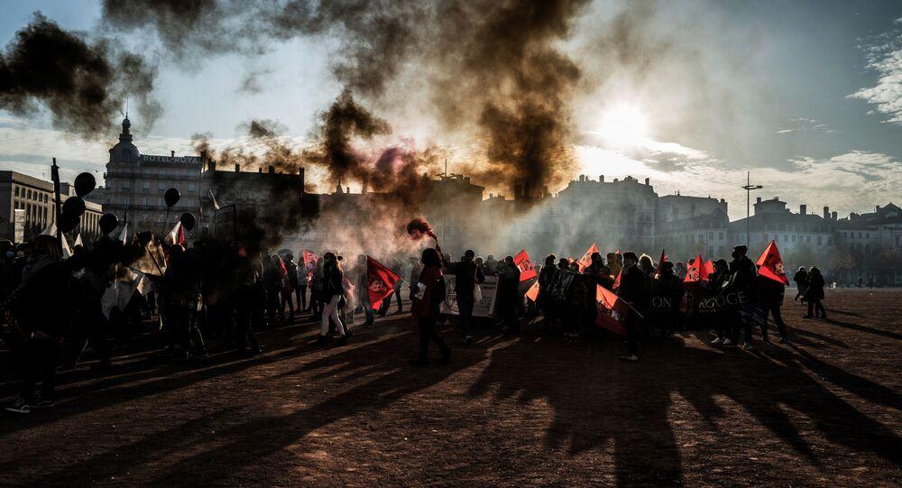 Protest v Lionu