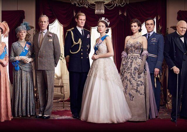 Historický dramatický televizní seriál Koruna