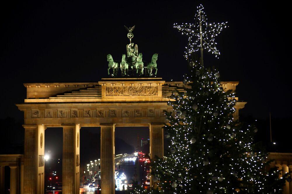 Vánoční strom v Berlíně
