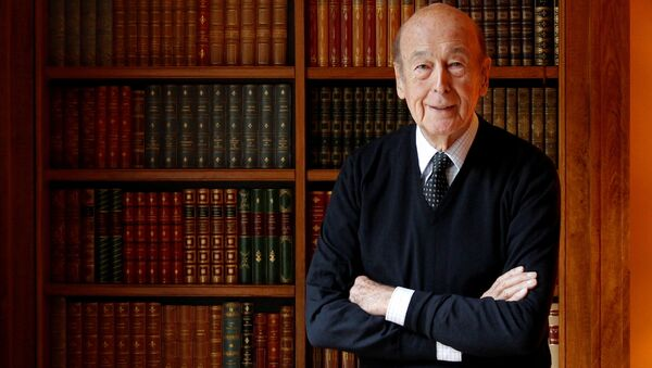 Bývalý prezident Francie Valéry Giscard d'Estaing - Sputnik Česká republika