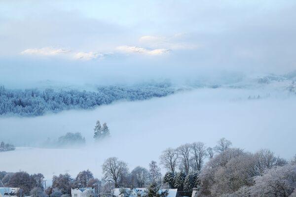 Pitlochry po sněžení, Skotsko - Sputnik Česká republika