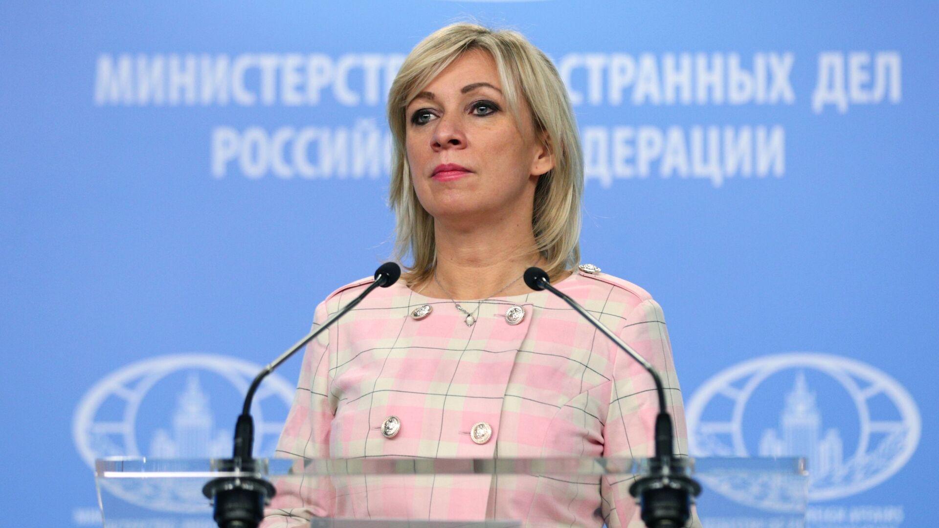 Mluvčí ruského ministerstva zahraničních věcí Maria Zacharovová - Sputnik Česká republika, 1920, 03.02.2021