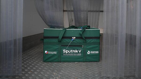 Odeslání vakcíny Sputnik V do zahraničí. Ilustrační foto - Sputnik Česká republika