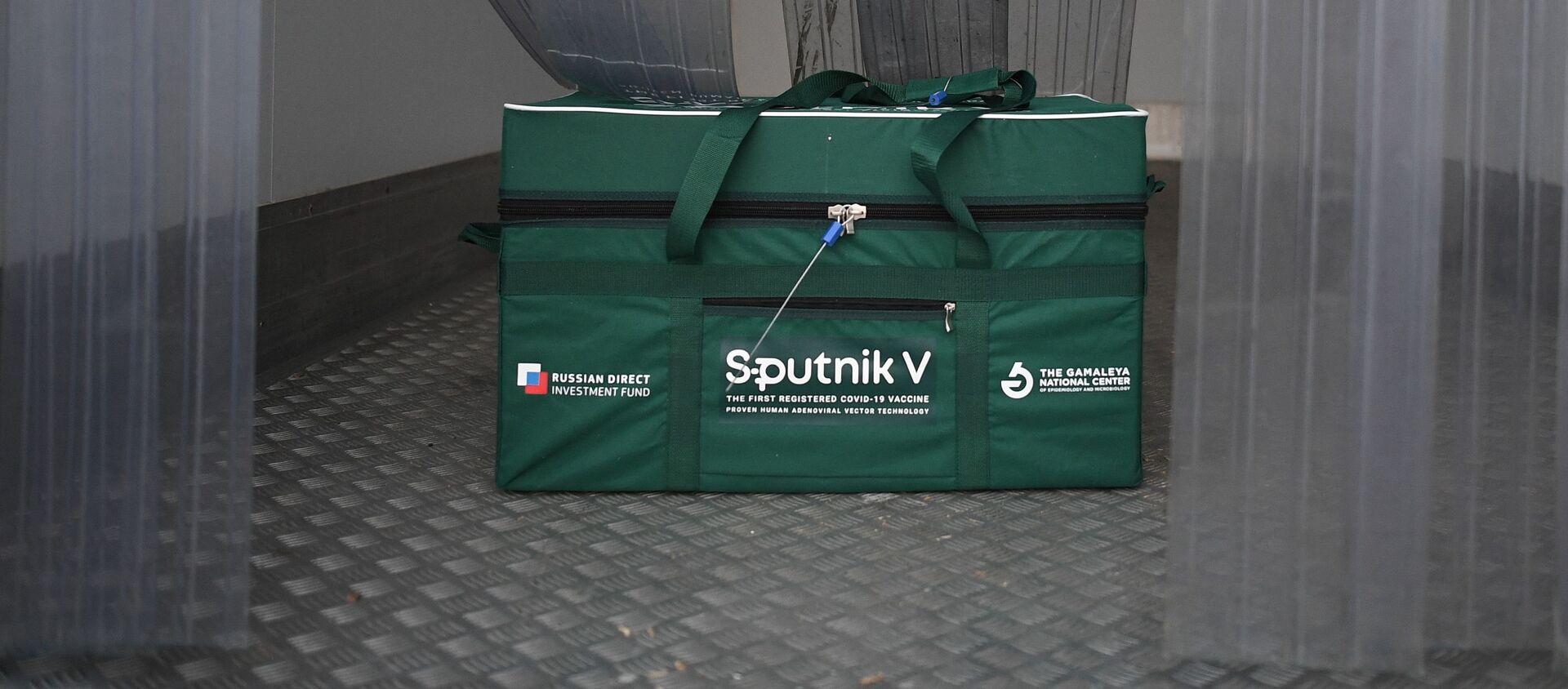 Odeslání vakcíny Sputnik V do zahraničí. Ilustrační foto - Sputnik Česká republika, 1920, 18.02.2021
