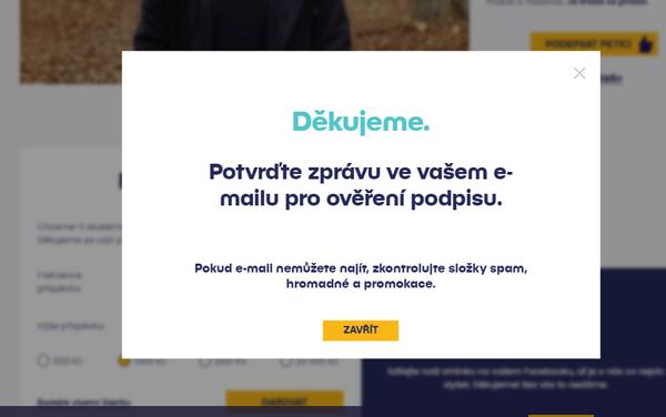 Petici hnutí Lidé PRO může podepsat i ruský občan. - Sputnik Česká republika