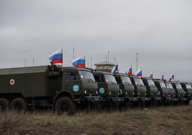 Ruské mírové síly v Náhorním Karabachu