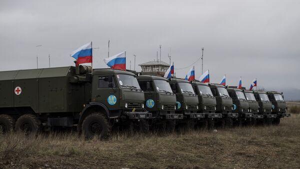 Ruské mírové síly v Náhorním Karabachu - Sputnik Česká republika