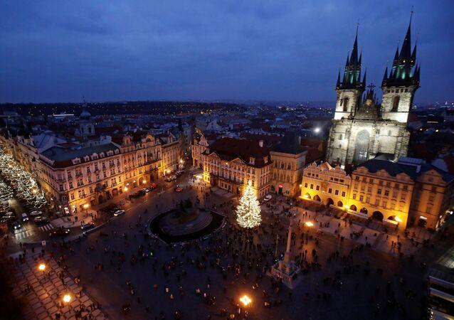 Staroměstské náměstí v Praze
