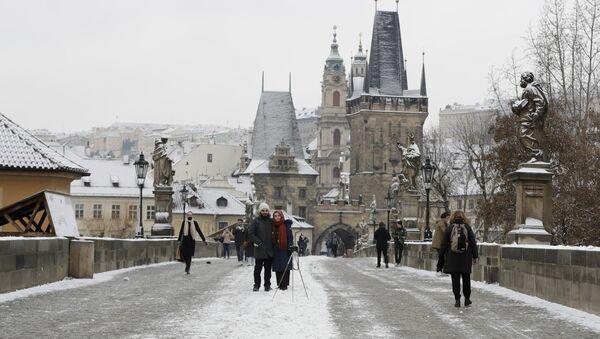 Předvánoční Praha v době koronaviru - Sputnik Česká republika