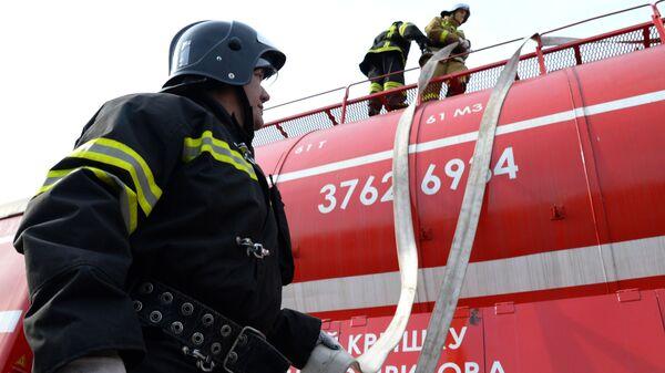 Ruští hasiči - Sputnik Česká republika