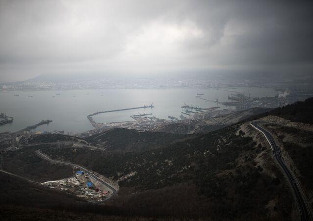 Pohled na Novorossijsk